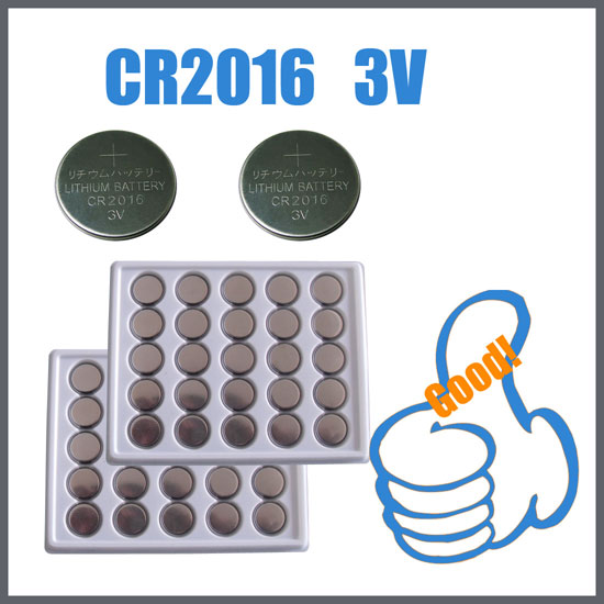 Lithium Button Cell Battery CR2016 3V