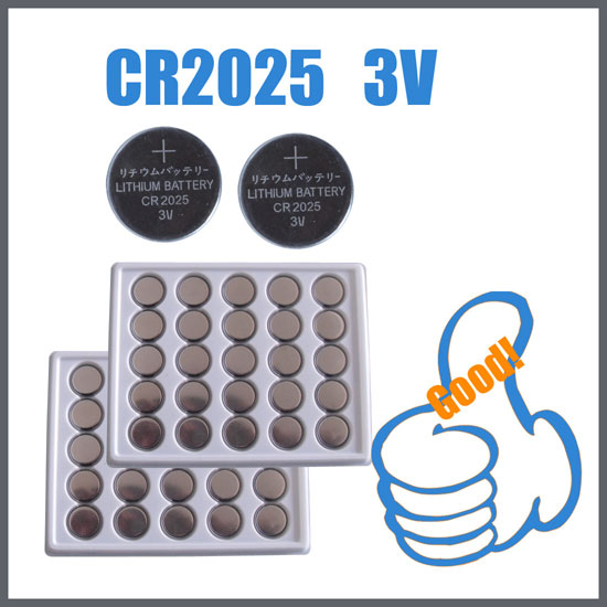 Lithium Button Cell Battery  CR2025  3V