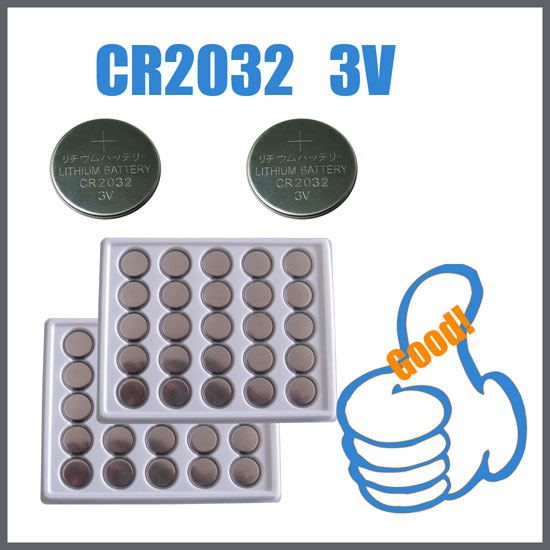 Lithium Button Cell Battery CR2032 3V