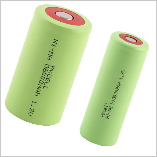 Ni MH Rechargeable Battery Industrial Ni MH battery