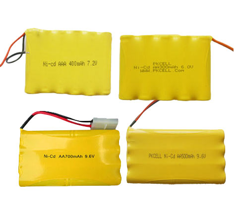 NiCd Rechargeable Battery Pack