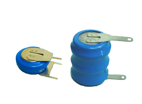 NiCd button Rechargeable battery