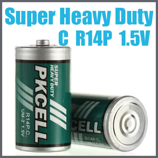 Dry battery Zinc Chloride Battery R14P
