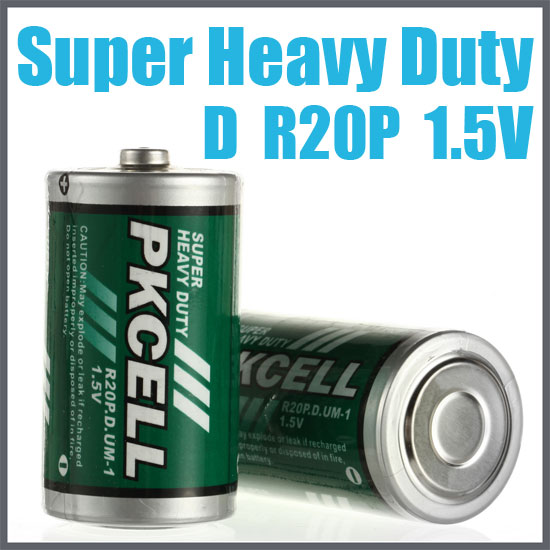 Dry battery Zinc Chloride Battery R20P