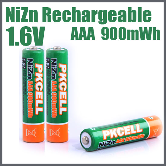 NiZn Rechargeable Battery AAA 900mWh