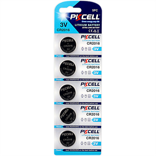 Lithium Button Cell CR2016