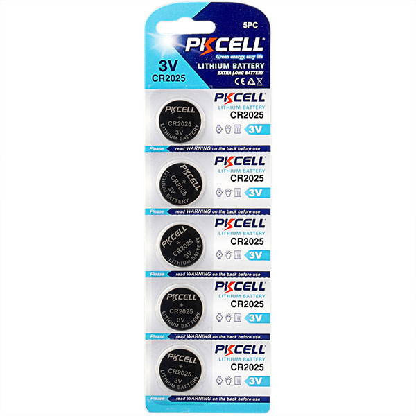 Lithium Button Cell CR2025