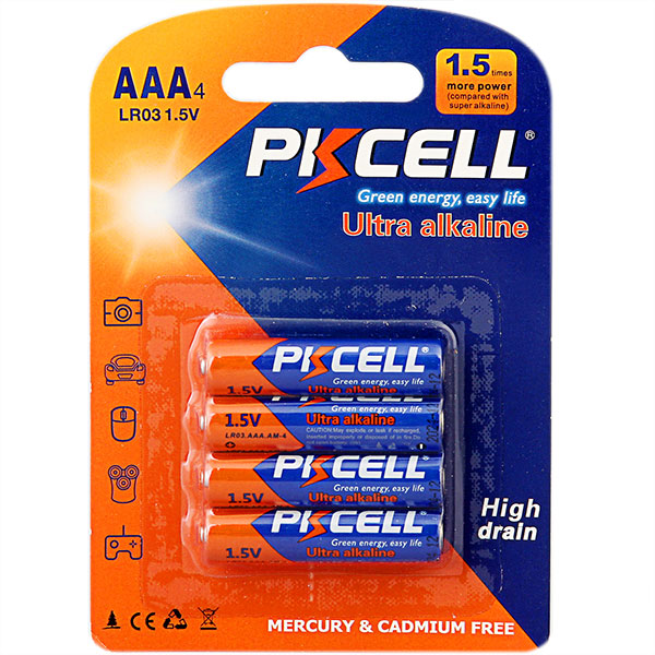 Ultra Digital Alkaline LR03 AAA Battery
