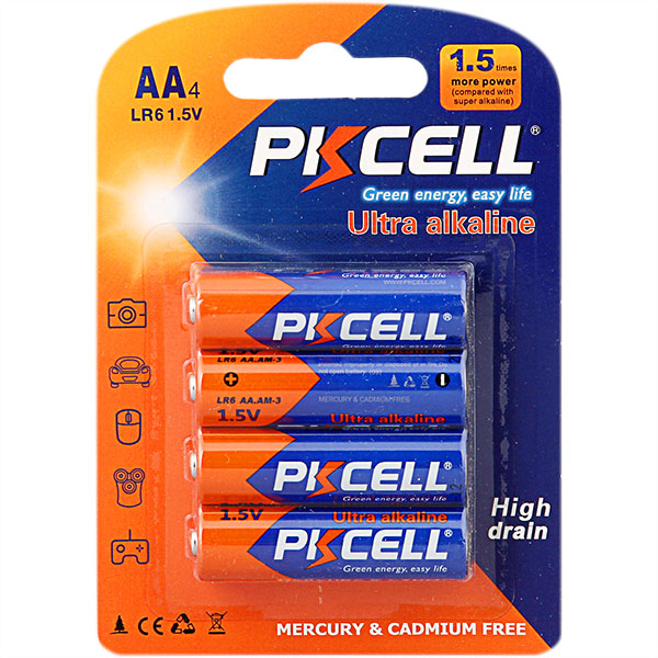 Ultra Digital Alkaline LR6 AA Battery