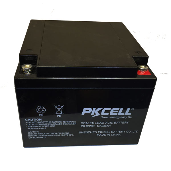 12v 26ah lead acid battery