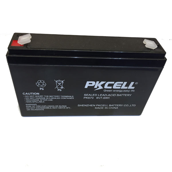 6v 7ah lead acid battery